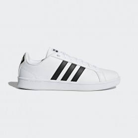 A0742 รองเท้า ADIDAS CLOUDFOAM ADVANTAGE SHOES -White/Black