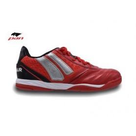 PA0073 รองเท้าฟุตซอล Pan CENTAUR - Red/Black