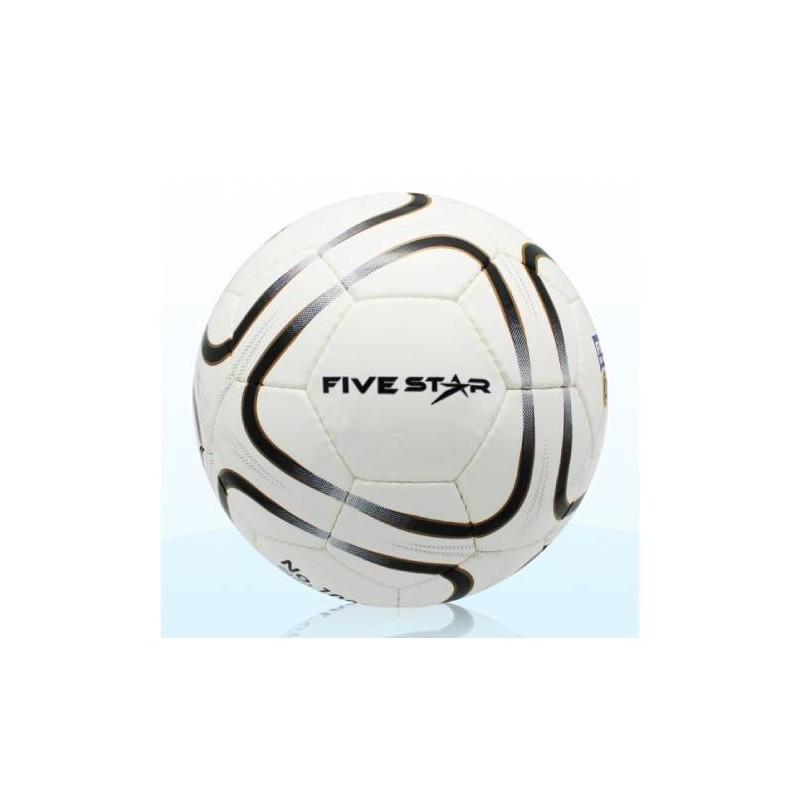 F0075 ลูกฟุตบอลหนังเย็บ ไฟว์สตาร์ No.1000