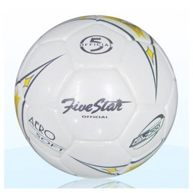 F0083 ลูกฟุตบอลหนังอัด ไฟว์สตาร์ ASL 500 ซุปเปอร์ ซอฟท์