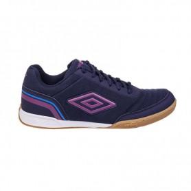 U0782 รองเท้าฟุตซอล UMBRO Futsal Street V-สีกรม/ม่วง