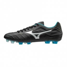 M0785 รองเท้าฟุตบอล รองเท้าสตั๊ด MIZUNO Rebula V1- Black/Silver/Blue