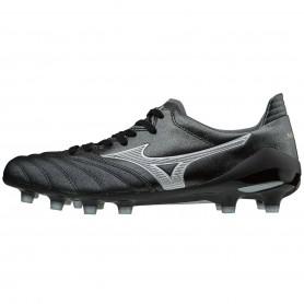 M0114 รองเท้าสตั๊ด รองเท้าฟุตบอล MIZUNO MORELIA NEO II JAPAN -Black/Silver