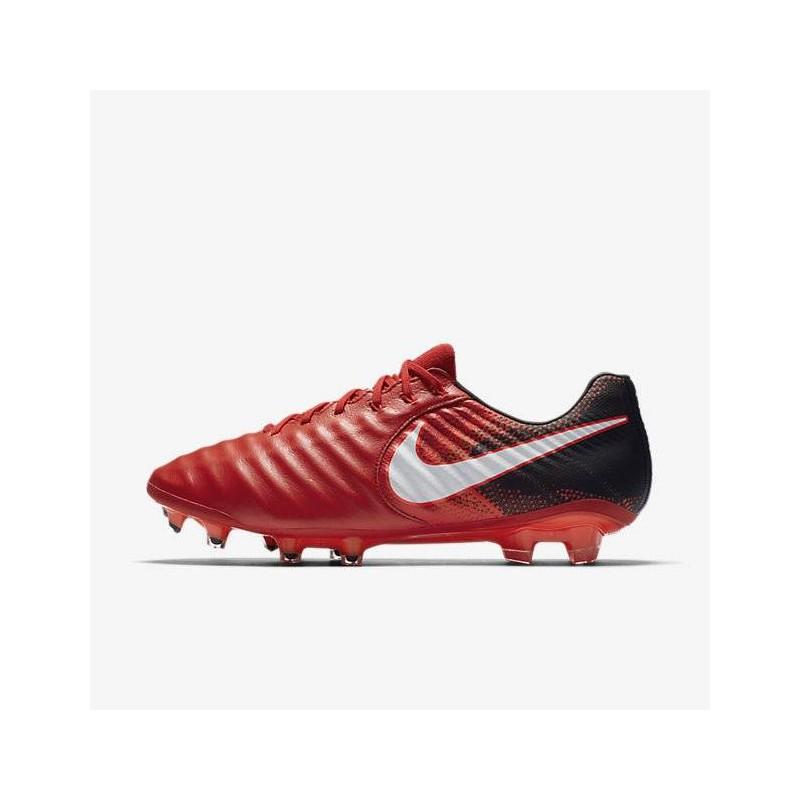 N0091 รองเท้าสตั๊ด รองเท้าฟุตบอล NIKE TIEMPO LEGEND VII FG - Red/Black