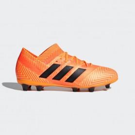 A0204 รองเท้าฟุตบอล รองเท้าสตั๊ดเด็ก ADIDAS Predator ABSOLADO INSTINCT FG-YELLOW/SHALE