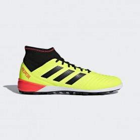 A0818 รองเท้าฟุตบอล 100 ปุ่ม สนามหญ้าเทียม ADIDAS Predator Tango 18.3 TF -Solar Yellow
