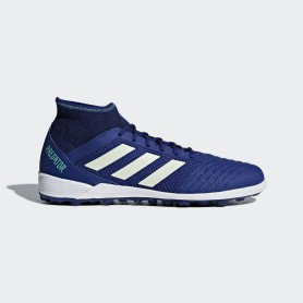 A0794 รองเท้าฟุตบอล 100 ปุ่ม สนามหญ้าเทียม ADIDAS Predator Tango 18.3 TF -Blue