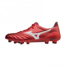 M0834 รองเท้าสตั๊ด รองเท้าฟุตบอล MIZUNO MORELIA NEO II JAPAN-High Risk Red / White