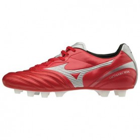 M0846 รองเท้าฟุตบอล รองเท้าสตั๊ด MIZUNO MONARCIDA 2 JAPAN - RED/GREY