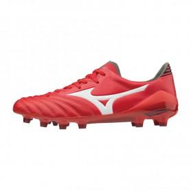 M0848 รองเท้าสตั๊ด รองเท้าฟุตบอล MIZUNO MORELIA NEO II MD-High Risk Red/White