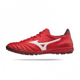 M0850 รองเท้าฟุตบอล 100ปุ่ม สนามหญ้าเทียม MIZUNO Morelia NEO KL AS-High Risk Red/White/Black