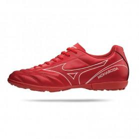 M0851 รองเท้าฟุตบอล 100ปุ่ม สนามหญ้าเทียม MIZUNO Monarcida 2 FS AS-High Risk Red/White/Black