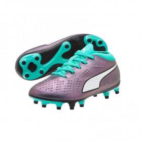 P0660 รองเท้าฟุตบอลเด็ก รองเท้าสตั๊ดเด็ก Puma ONE 18.4 FG -Green Gecko