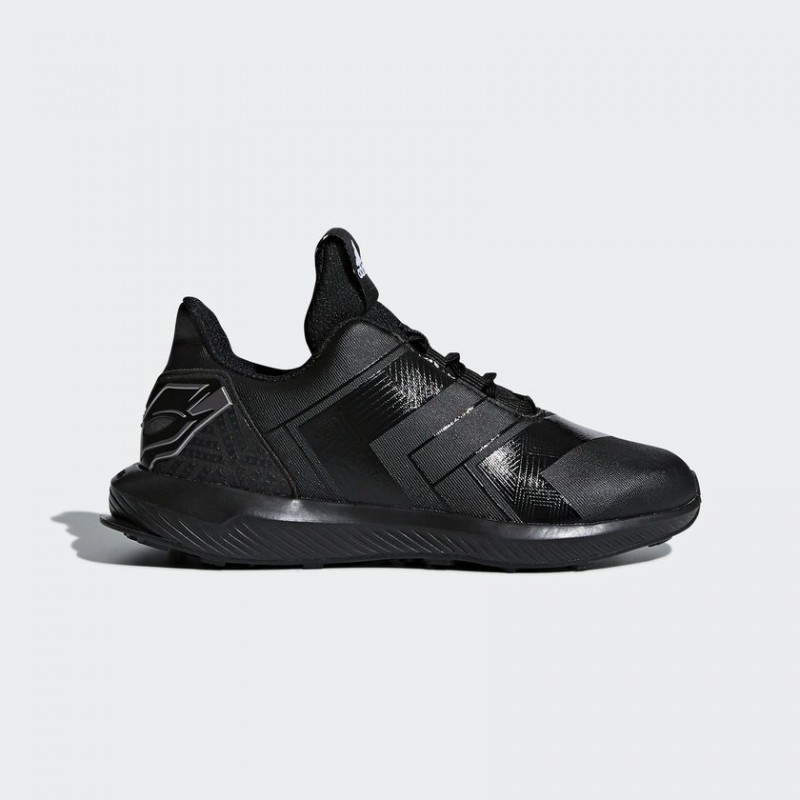A0890 รองเท้า Sneakers/Training เด็ก adidas RapidaRun Avengers Shoes-black