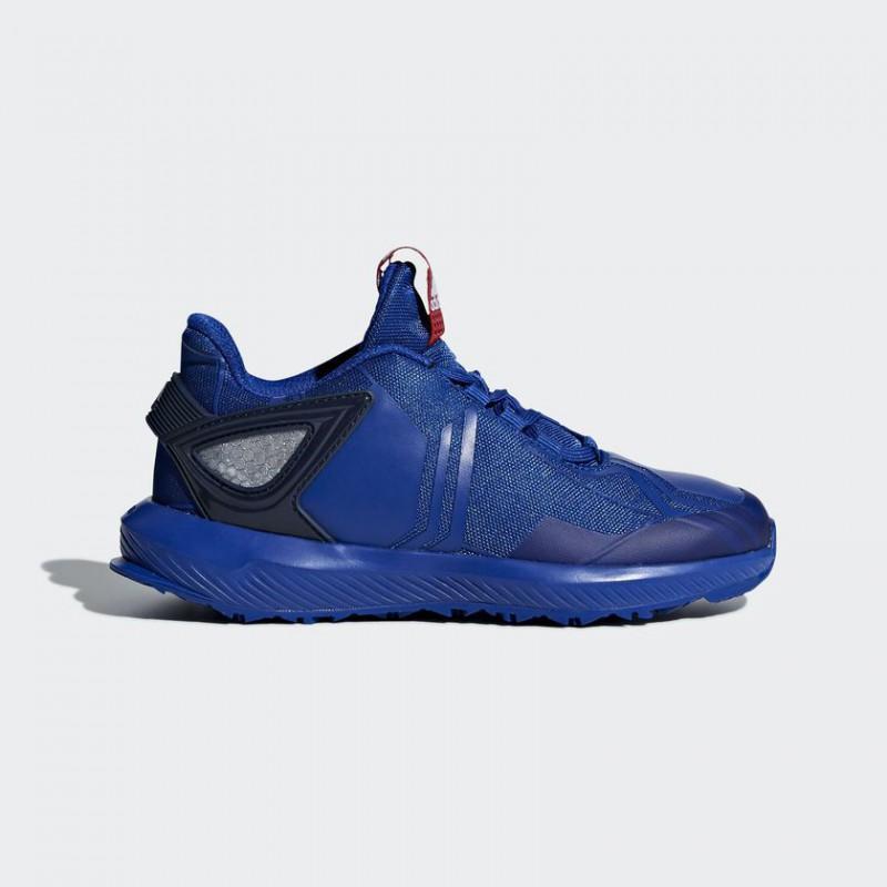 A0891 รองเท้า Sneakers/Running เด็ก adidas RapidaRun Spider-Man Shoes-Collegiate Royal