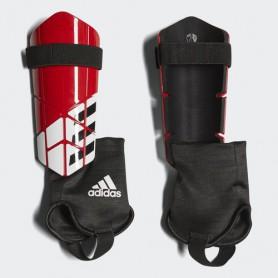 A0880 สนับแข้ง Adidas X Club Shin Guards-red/black/white