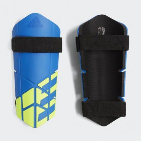 A0878 สนับแข้ง Adidas X Lite Shin Guard-blue/black/solar yellow