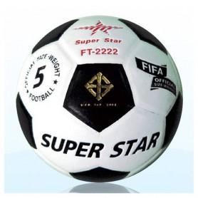 F0097 ลูกฟุตบอลหนังอัด ซุปเปอร์สตาร์ No. FT-2222