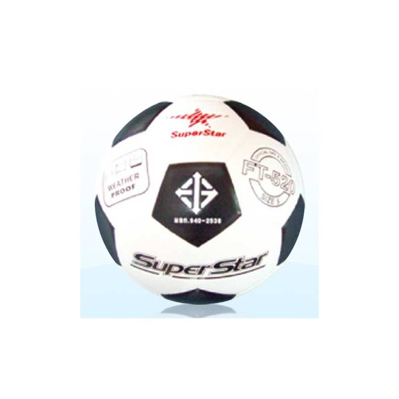 F0099 ลูกฟุตบอลหนังอัด ซุปเปอร์สตาร์ No. FT 520