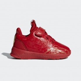 A0893 รองเท้า Sneakers/Training เด็กเล็ก adidas RapidaRun Avengers Shoes-scarlet