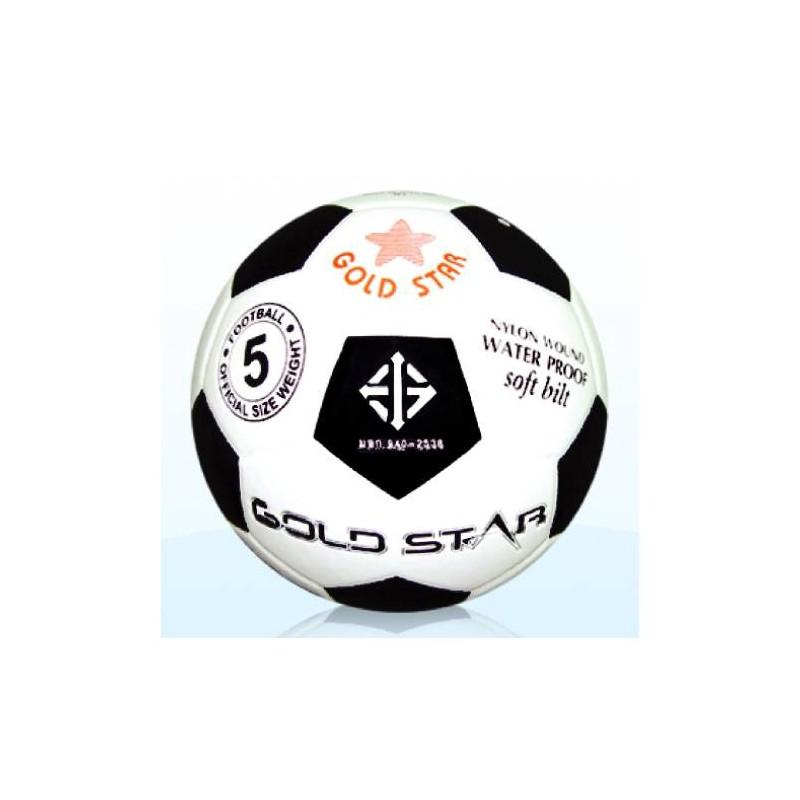F0100 ลูกฟุตบอลหนังอัด โกลด์สตาร์ No.FT 510 เบอร์ 5