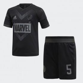 A0898 ชุดเซตเด็ก adidas Marvel Spider-Man Football Set-Blue