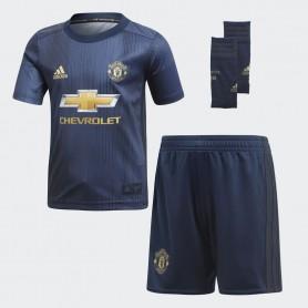 A0902 ชุดเซตฟุตบอลเด็กเล็ก adidas Manchester United Third Mini Kit