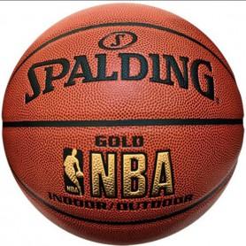 S0863 ลูกบาสเกตบอล Spalding Gold Indoor/Outdoor Basketball
