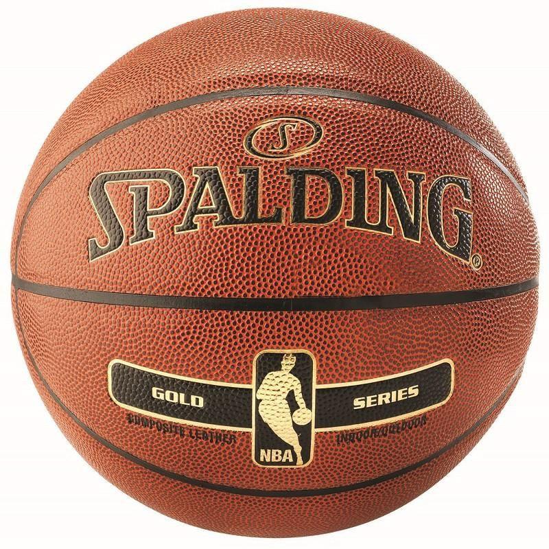 S0862 ลูกบาสเกตบอล Spalding NBA Gold Series Basketball