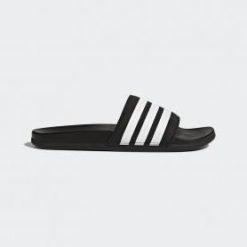 A0885 รองเท้า Adidas Adilette Cloudfoam Plus Stripes Slides-Black/White
