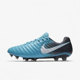 N0104 รองเท้าสตั๊ด รองเท้าฟุตบอล NIKE TIEMPO LEGEND VII FG - Gamma Blue
