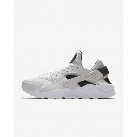N0983 รองเท้า Nike Air Huarache-White/Pure Platinum/Black