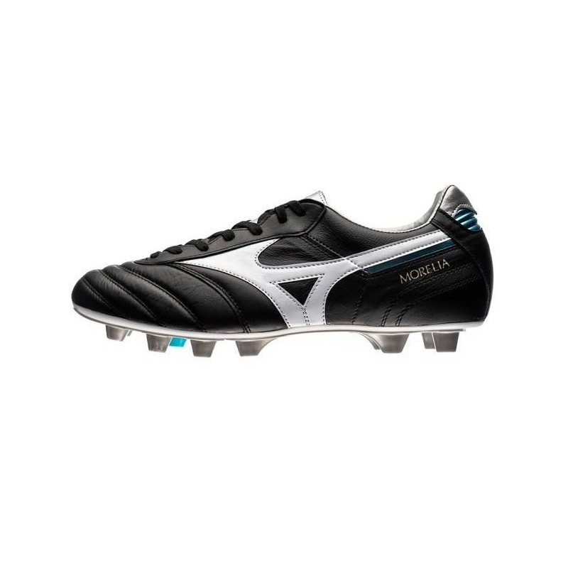 M0115 รองเท้าสตั๊ด รองเท้าฟุตบอล MIZUNO MORELIA II JAPAN -Black/White/