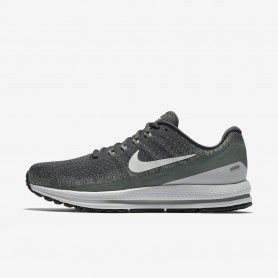 N1019 รองเท้าวิ่ง Nike Air Zoom Vomero 13-Anthracite/Clay Green