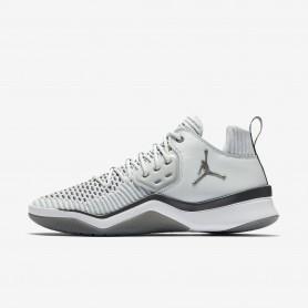N1024 รองเท้าบาสเกตบอล Nike Jordan DNA LX-Pure Platinum/Dark Grey