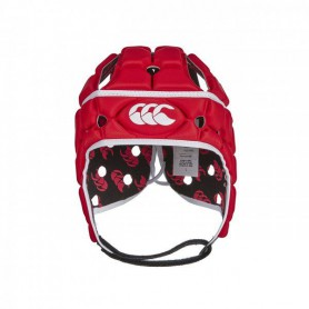 C1046 หมวกรักบี้ Canterbury VENTILATOR HEADGUARD -Red