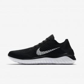 N1051 รองเท้าวิ่ง Nike Free RN Flyknit 2018-Black/White