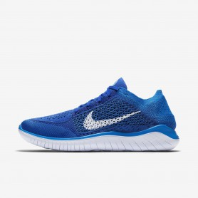 N1052 รองเท้าวิ่ง Nike Free RN Flyknit 2018-Game Royal