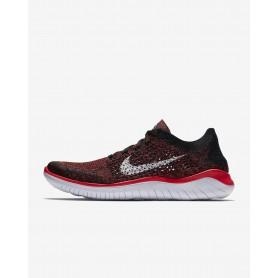 N1053 รองเท้าวิ่ง Nike Free RN Flyknit 2018- Bright Crimson
