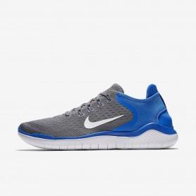 N1056 รองเท้าวิ่ง Nike Free RN 2018-Gunsmoke/Signal Blue