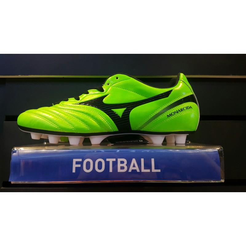M1102 รองเท้าฟุตบอล รองเท้าสตั๊ด MIZUNO MONARCIDA 2 JAPAN -Green