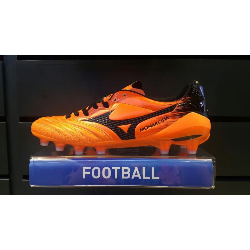 M1104 รองเท้าฟุตบอล รองเท้าสตั๊ด MIZUNO MONARCIDA 2 NEO JAPAN -Orange