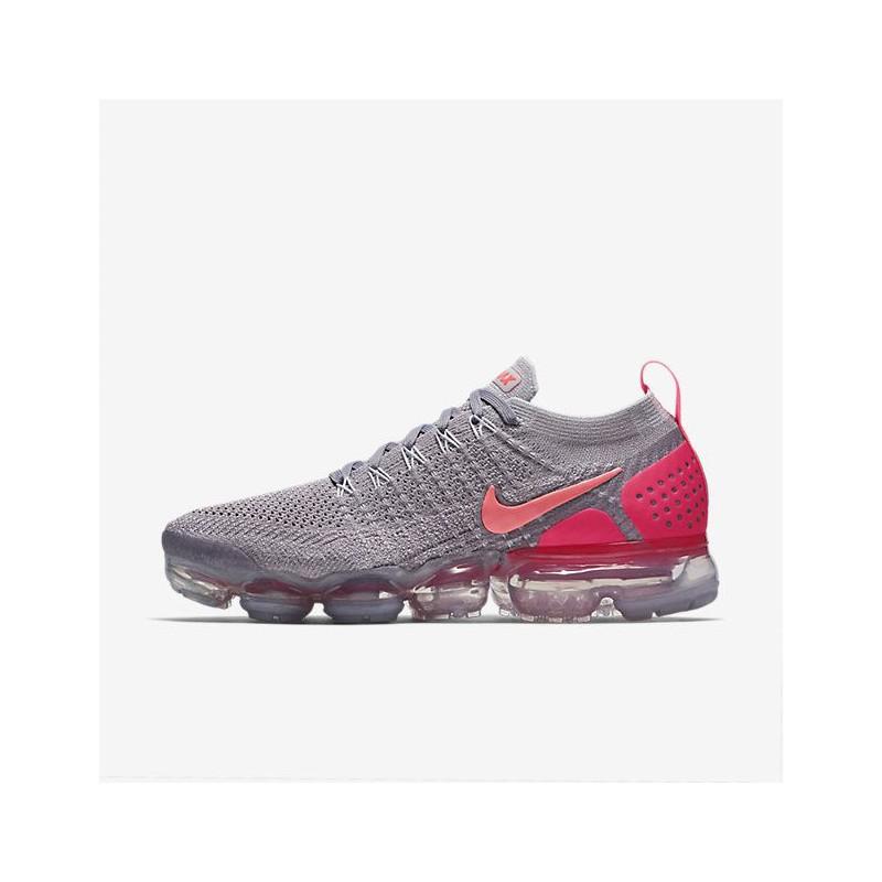 N1106 รองเท้าวิ่ง ผู้หญิง Nike Air VaporMax Flyknit 2-Atmosphere Grey