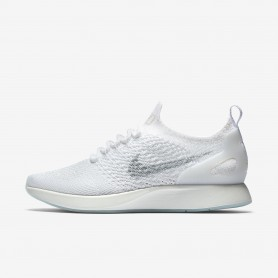 N1118 รองเท้า ผู้หญิง Nike Air Zoom Mariah Flyknit Racer-White