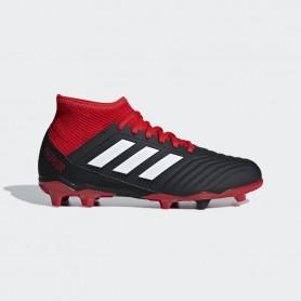 A1125 รองเท้าฟุตบอล รองเท้าสตั๊ดเด็ก ADIDAS Predator 18.3 JR. FG -Core Black / Cloud White / Red