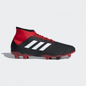 A1140 รองเท้าฟุตบอล รองเท้าสตั๊ด ADIDAS Predator 18.2 FG -Black/White/Red