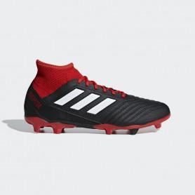 A1141 รองเท้าฟุตบอล รองเท้าสตั๊ด ADIDAS Predator 18.3 FG -Black/White/Red