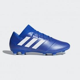 A1143 รองเท้าฟุตบอล รองเท้าสตั๊ด ADIDAS Nemeziz 18.2 FG -Blue/White