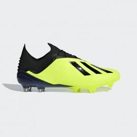 A1145 รองเท้าฟุตบอล รองเท้าสตั๊ด ADIDAS X 18.1 FG -Solar Yellow/Black