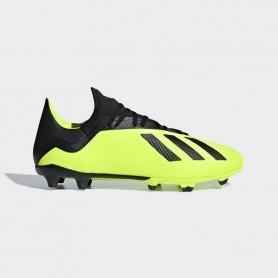 A1147 รองเท้าฟุตบอล รองเท้าสตั๊ด ADIDAS X 18.3 FG -Solar Yellow/Black